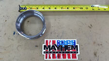 S300 Marmon x 4.0 Tube Billet Mild steel Turbo exhaust flange 100% MADE IN USA!