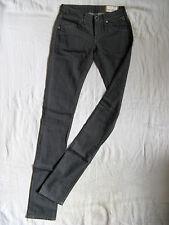 REPLAY jeans femmes Skinny stretch denim w25/l36 Low Waist X-Slim Fit pipe Leg