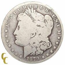 1879-CC Silver Morgan Dollar $1 (Good, G Condition) Natural Color!