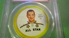 1962/63 Doug Harvey Shirriff hockey coin (all-star) 45 psa 6