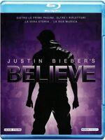 Justin Bieber's believe Blu Ray Nuovo Sigillato Justin Bieber RN