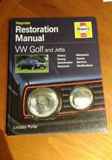 Vw Golf and Jetta - Haynes Restoration Manual - Volkswagen repair