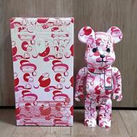 Medicom Toy BE@RBRICK Bearbrick A Bathing Ape Bape Pink 400% Japan Limited