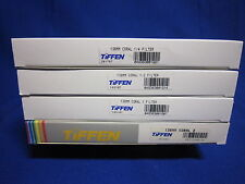TIFFEN 138MM FILTER  CORAL # 1/4, 1/2, 1, 2  (LOT OF 4)