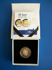 Nederland 2 euro CC 2015 30 jaar Europese vlag PROOF