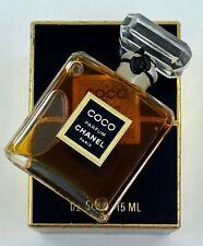 Chanel COCO parfum 15 ml 1/2 FL OZ VINTAGE flacon en cristal