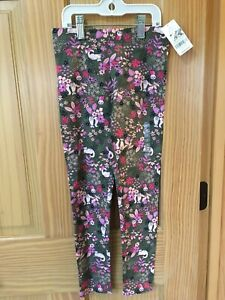 NWT Carter's Cats Leggings Toddler and Kid Girls Green
