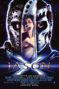 Jason X (2002) original movie poster - single-sided - rolled
