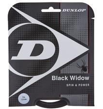Dunlop Black Widow Spin & Power 16g Tennis Strings Set 624610 -