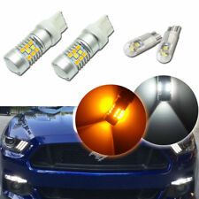 Switchback 28-SMD LED Kit For 2015-up Ford Mustang as Turn Signal Lights & DRL