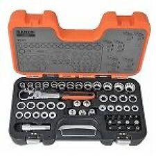 Bahco Steckschlüssel Satz S530T 53 tlg. Durchstecksatz im Koffer Profi Werkzeug