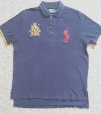 Polo Ralph Lauren Jockey Club Racing Mercer Big Pony Patches Shirt XL