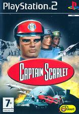 Captain Scarlet PS2 Playstation 2 IT IMPORT ATARI