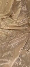 Gold Satin Lace Fabric 58'' PRICE PER METER
