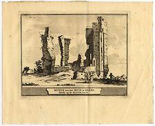 Antique Print-HAARLEM-KLEEF-STADSKWEEKTUIN-NETHERLANDS-Schijnvoet-Roghman-1754