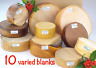 Wood turning bowl blanks gift selection box 10 blanks Mixed sizes and species 40
