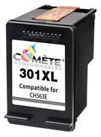 HP 301XL CH563 Cartouche Remanufacturée Compatible Noir 18ml - Comète France
