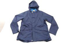 New Levi's Wpmens #17145 Navy Blue Hooded Lightweight Parka Jacket Coat Size 3