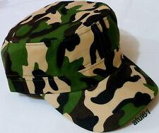 Unisex Hombres Mujeres Camuflaje Militar Ejército Gorra De Béisbol Ajustable Sombrero de caza al aire libre