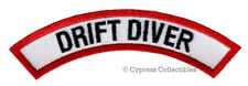 DRIFT DIVER CHEVRON - SCUBA DIVING iron-on DIVE CERTIFICATION PATCH embroidered