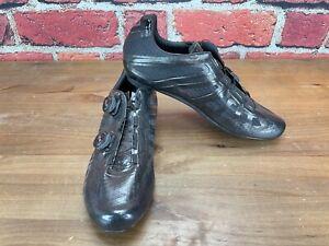 Giro Easton Imperial EC90 SLX 45.5(EU) 11.5(US) Road Cycling Shoes 3-Bolt Black