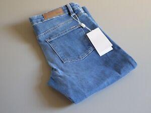 HUGO BOSS J35 NEVILA STRAIGHT LEG SLIM STRETCH BLUE JEANS W26 L32 BNWT AUTHENTIC
