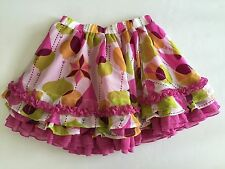 Matilda Jane PAINT BY NUMBERS 6 All the Baubles Ornament Chiffon Twirl Skirt EUC