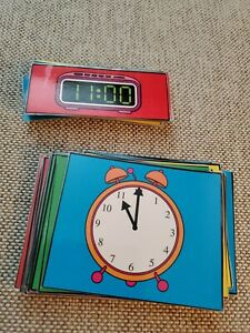 Carson-Dellosa ~  Time Learning Cards ~ 48 Cards