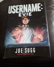 Username: EVIE by Joe Sugg - Hardcover book - collectors edition
