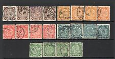 CHINA 1898-1906 Small Dragon group of 20 used stamps