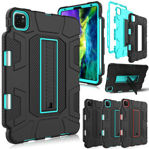 For Apple iPad Pro 11 inch 2020 2018 Case Shockproof Rugged Stand Armor Cover