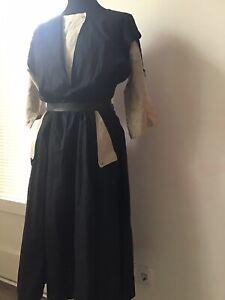 Schönes Kleid true Vintage 80er Gr. 40 schwarz