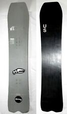 RARE United Shapes 151 Orbit Snowboard, Gray w Crab Grab  stomp pad