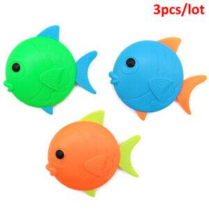 3pcs Diving Fish Toys Beach Water Diving Kids Swimming Pool Diving Fish  HoJ CM