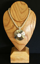 STUNNING 'Summery, Beachy Feel' MOTHER OF PEARL SHELL & BEAD NECKLACE