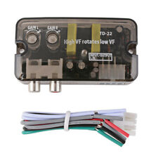 Car Stereo Audio RCA Line Output Speaker Level Converter Adaptor High To Low B