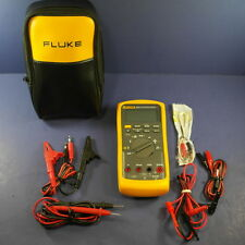 Fluke 87-V 87V 87-5 TRMS Multimeter, Excellent Condition, Soft Cse, Probes