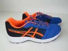 New Asics Patriot 9 Running Blue orange Trainers EU38, UK5
