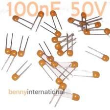 20x 100nF 50V MONOLYTHIC CAPACITORS 0.1uF Y5V Decoupling Arduino - AUS STOCK