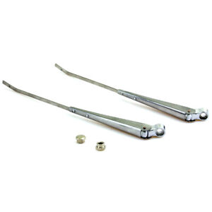 1972-79 FIT NISSAN DATSUN 620 PICKUP WINDSHIELD WIPER ARM ASSEMBLY RHD SET 2 Pcs