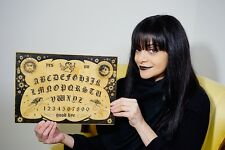 Witchboard OUIJA Spirit  Board BIRCH HAnd MAde psychic paranormal haunted house
