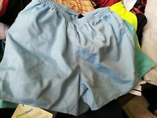 LADIES RUNNING SHORTS RON HILL PALE BLUE SIZE 12 UK AT £6AQUADUCT