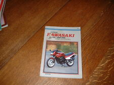 KAWASAKI EX500 CLYMER WORKSHOP MANUAL. 1987 TO 1991.