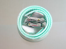 NOS NEW NIB rare sugino straps for toe clips, bianchi color, pista, road record
