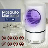 1/2x Electric Mosquito Killer Lamp Insect Trap Grill Fly Zapper Bug Trap Catcher