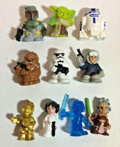 Disney Hasbro Star Wars Micro Force Series 1 Mini Figures x 10 - 2017