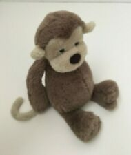 Jellycat London Bashful Monkey Brown Tan 12 Inches Stuffed Animal