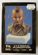 VERLINDEN PRODUCTIONS - US 101 ST. AIRBORNE WWII - Buste & Socle marbre