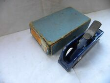 VINTAGE BOXED EARLY RECORD No 75 BULL-NOSE RABBET PLANE (505)