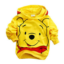 Baby Kids Boys Toddler Cotton Hooded Hoodies Top Clothing Suit Bear Clothes 0-1Y